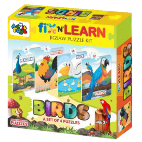 FIX N LEARN BIRDS PUZZLE