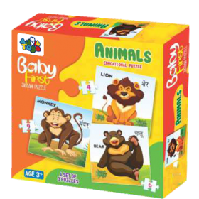 BABY FIRST PUZZLE ANIMALS