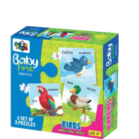 BABY FIRST PUZZLE BIRDS