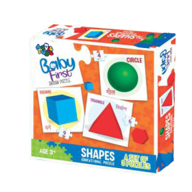 BABY FIRST PUZZLE SHAPES