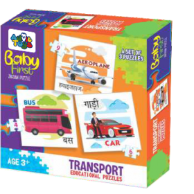 BABY FIRST PUZZLE TRANSPORT