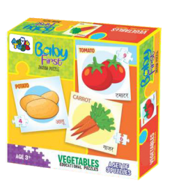 BABY FIRST PUZZLE VEGETABLES