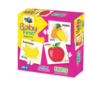 BABY FIRST PUZZLE FRUITS
