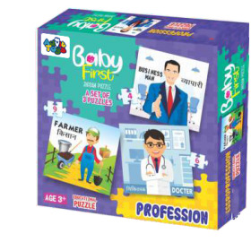 BABY FIRST PUZZLE PROFESSION
